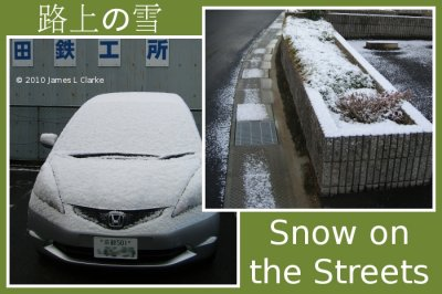 Snow on the Streets