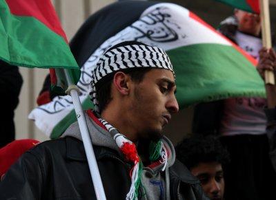 pro-Palestinian demonstration in Detroit