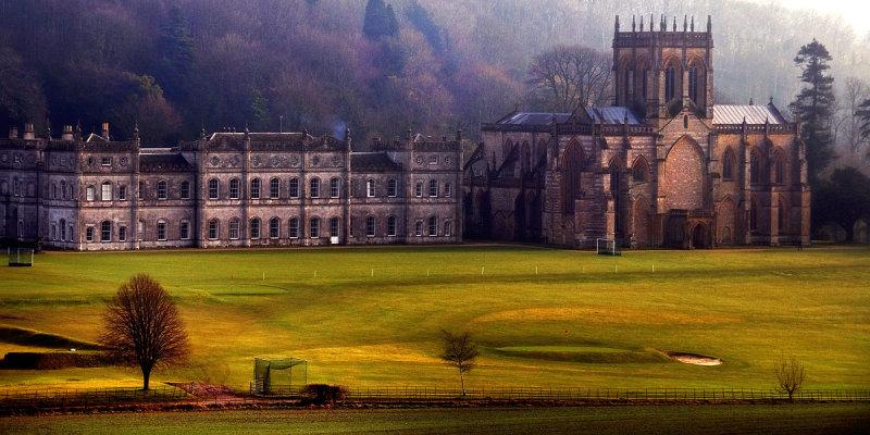 Abbey and school, Milton Abbas (2037)