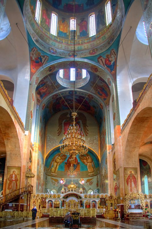 Nave of the Russian church, Cherkasy