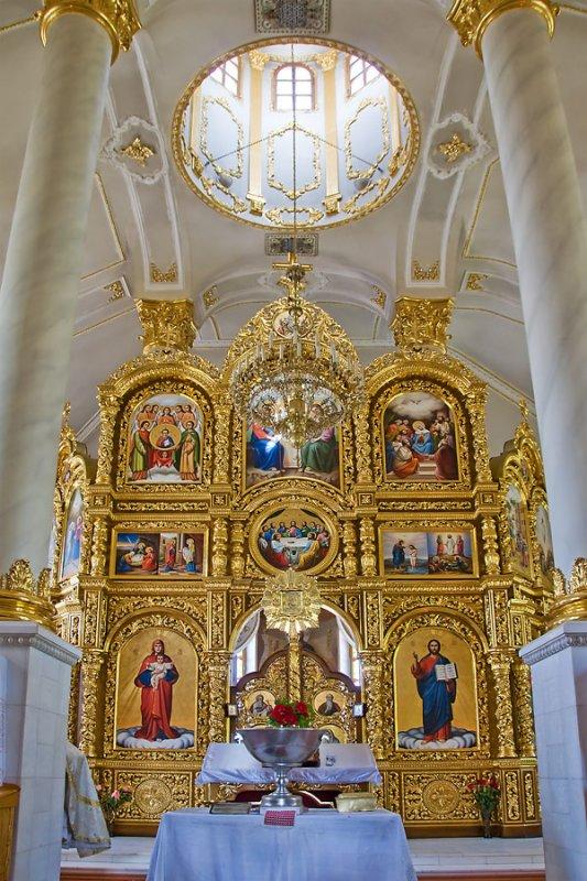 Gold screen, Ukrainian church, Cherkasy