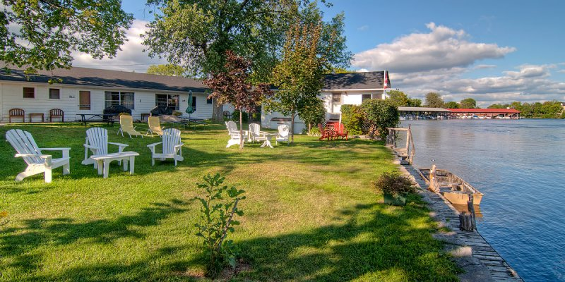 Stonyhurst lawn, Bobcaygeon
