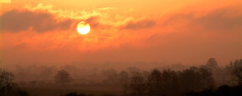 Sunrise from the A303 (2354)