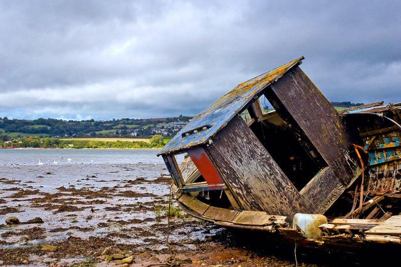 Wrecked again, River Teign! (2981)