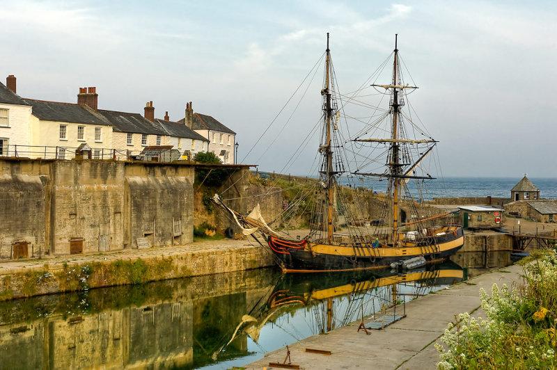 Old ship, Charlestown, Cornwall (2576)