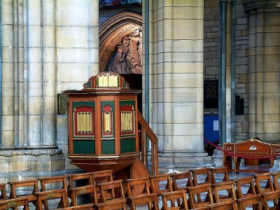 Pulpit, Truro Cathedral, Cornwall