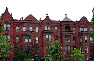 Maryland Ave, 600 block, row