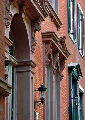Old stoops on Lafayette Square