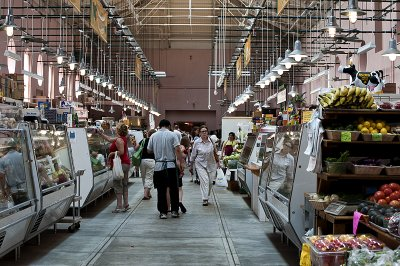 Quiet day at Eastern Market