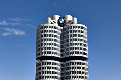 Presiding over it all: BMW headquarters