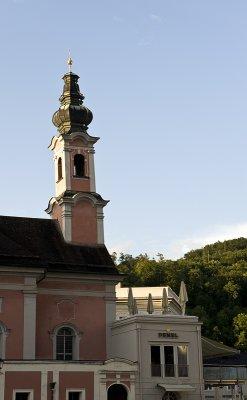 Crooked steeple