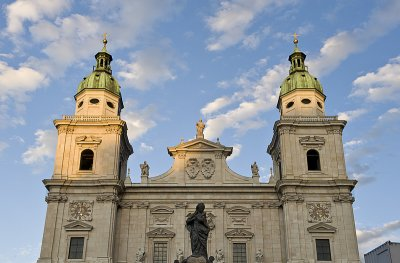 Salzburg Cathedral in sweet light
