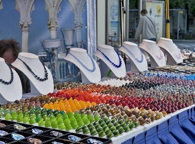 Venetian glass, Italian church festival