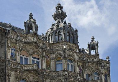 Ornate apartment building