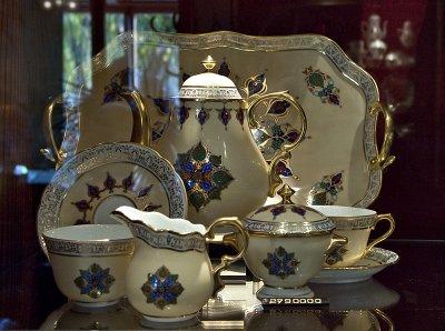 $14,000 tea service