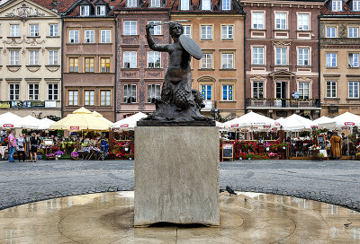 Mermaid of Warsaw, Old Town Square