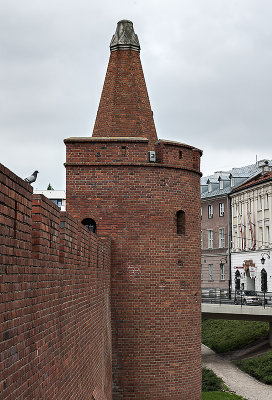 City walls and tower