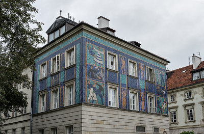 The mosaic building