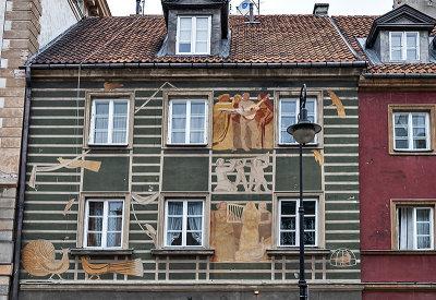 Fanciful facade