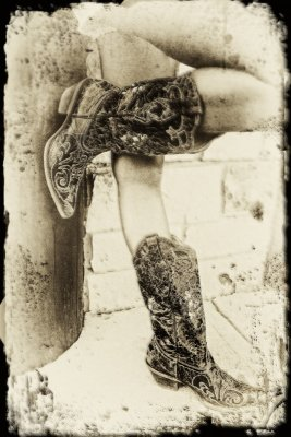 B is for Billye Caye and for her Boots