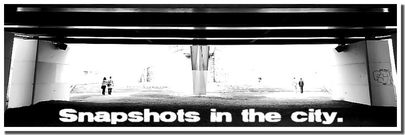 Snapshots in the city -Banner-