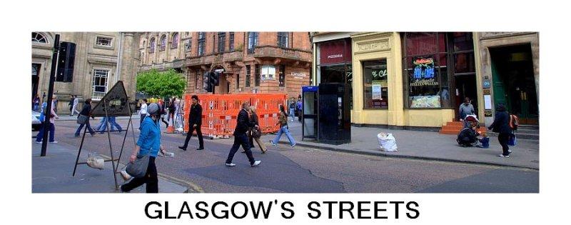 Glasgows Streets - Banner -