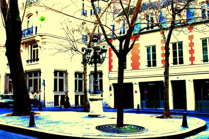 Place  Furstenberg en rêve.