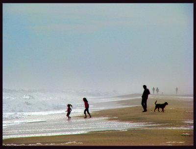 8 minutes on a  East Hampton Beach