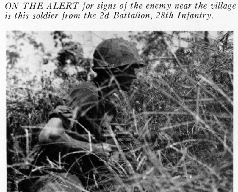 Battle for Loc Ninh Village, Nov. 67