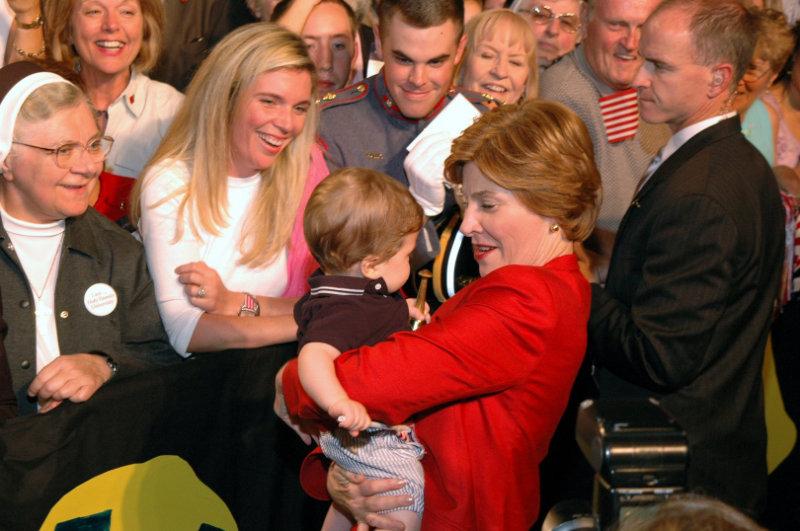 First Lady Hugs