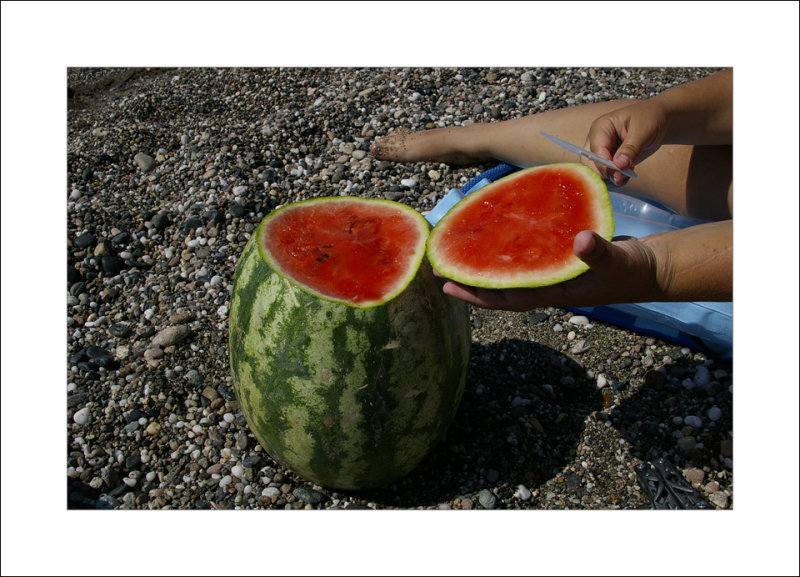Water melon lunch