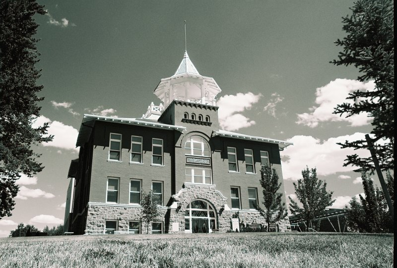 Historic Douglas County Courthouse  In Waterville