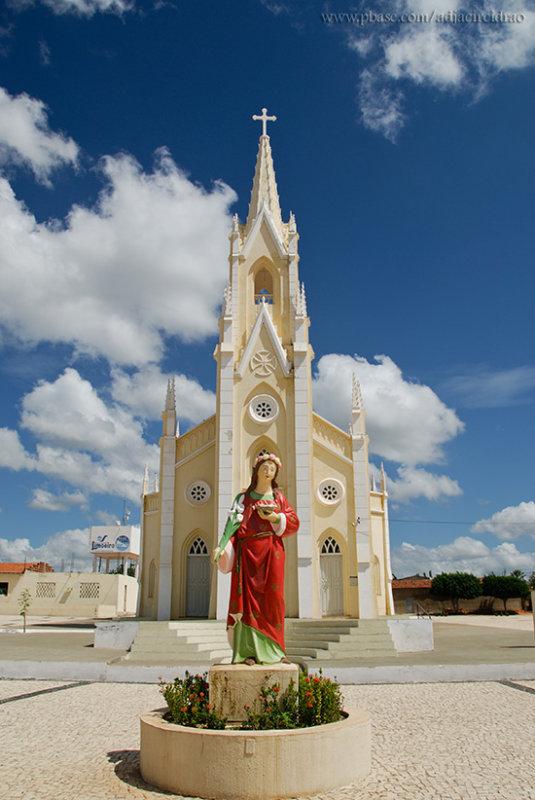 Santa Luzia e Igreja