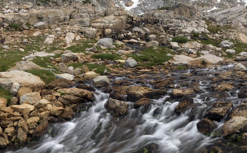 Hoover Wilderness - Stream & Granite