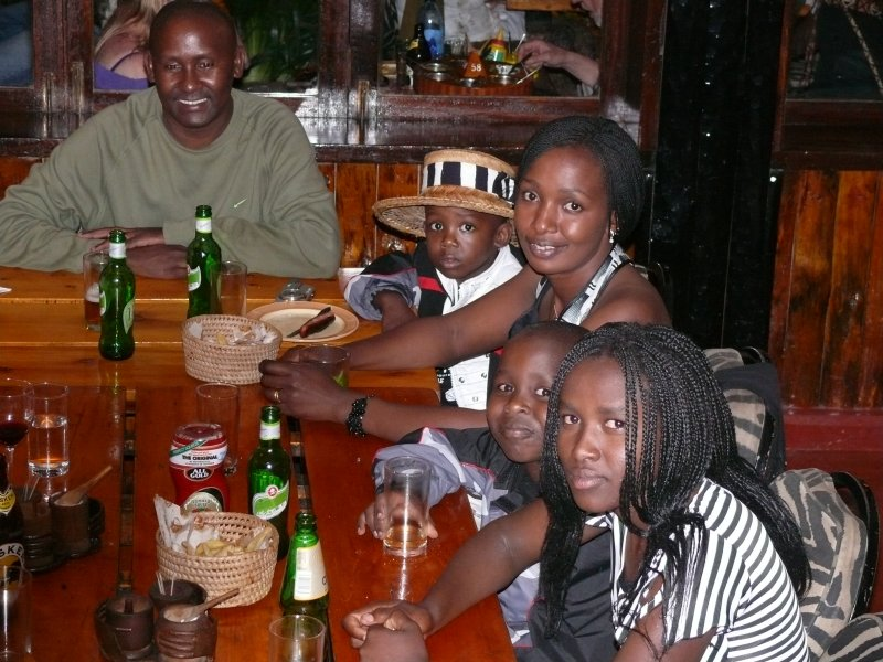 The right hand side of the table - Eunice, Ivan, Molly, Terrance & Daniel (again)