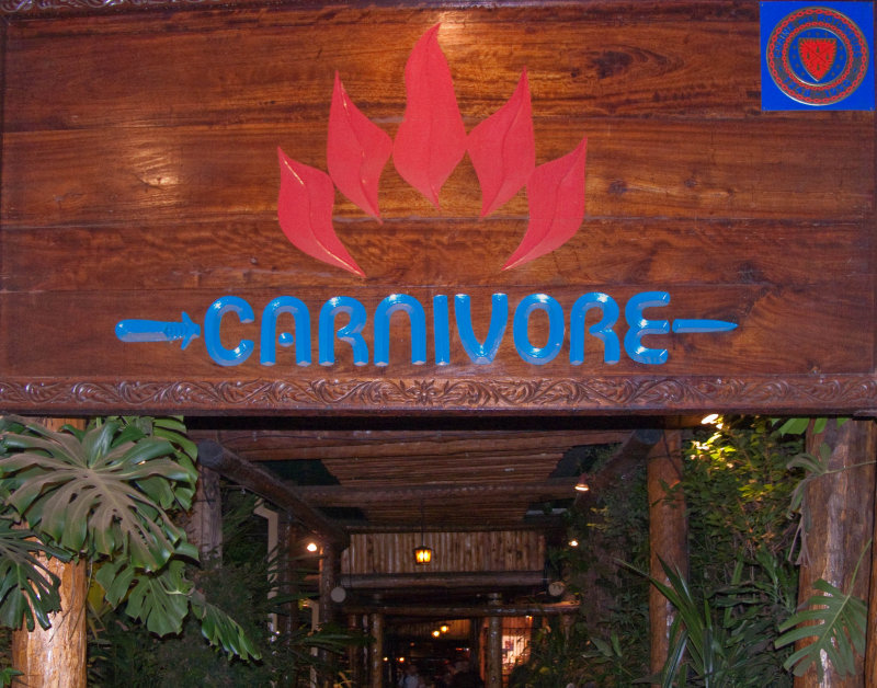 The Carnivore - Jamies birthday dinner was here