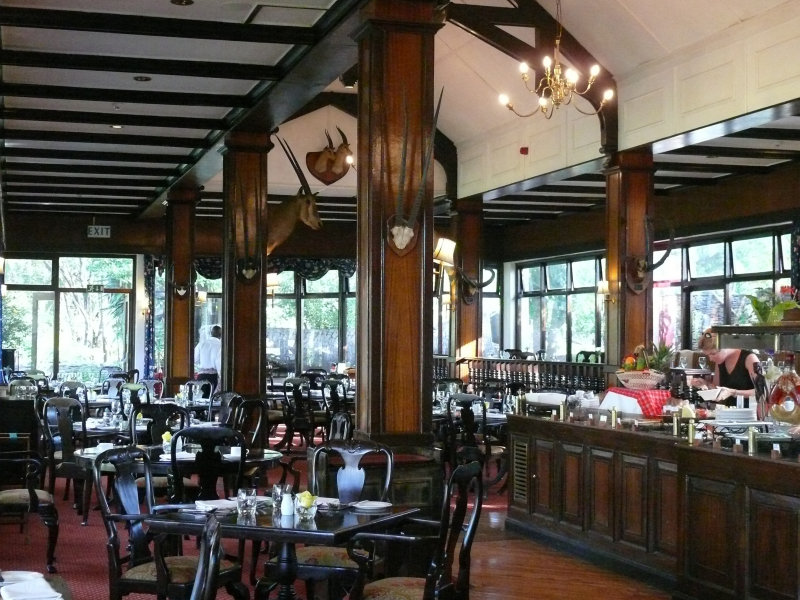 The restaurant at MKSC, really nicely done