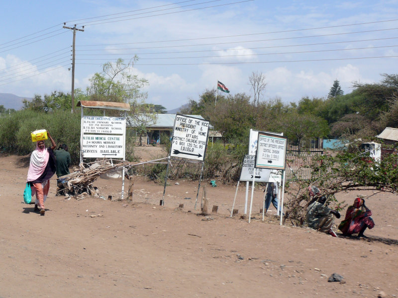Along the road in Isiolo