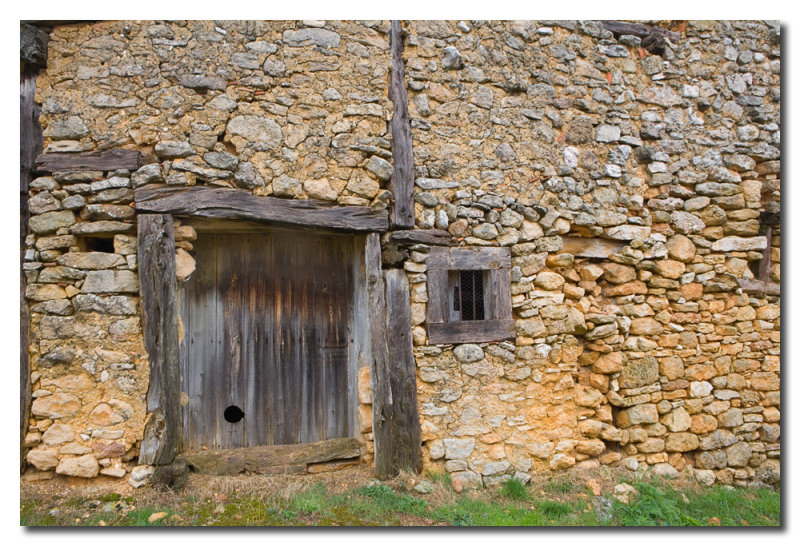 Pared vieja  -  Old stone wall