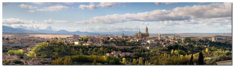 Panorama de Segovia