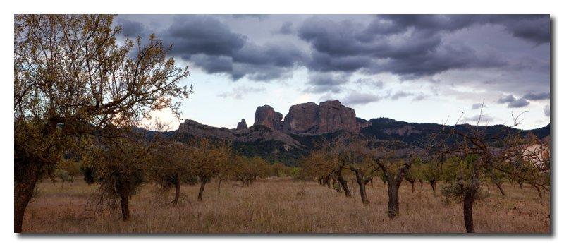 Panorama Rocas de Benet  -  Panorama Benet Rocks