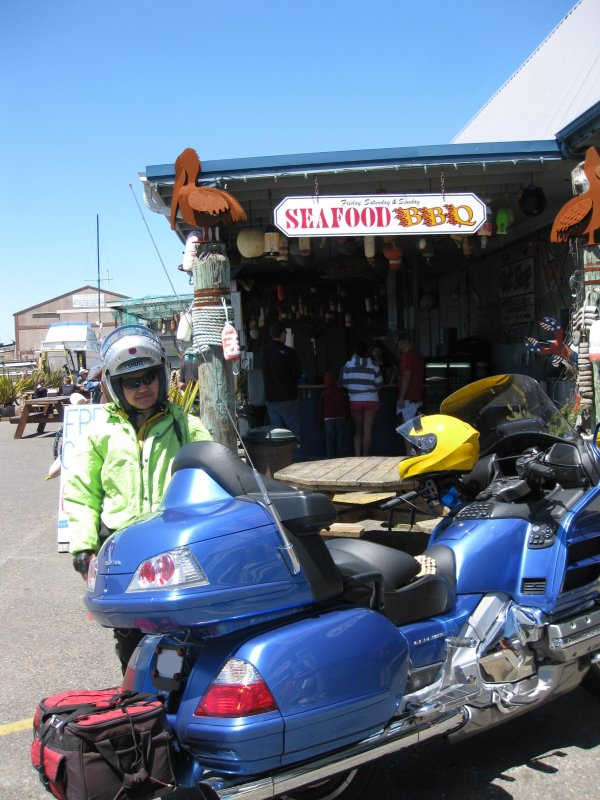 Will Ride for Seafood