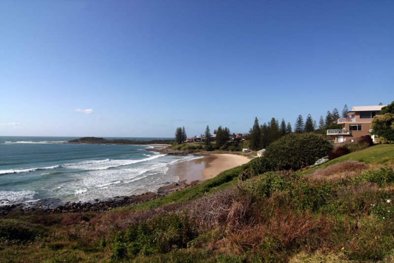 Yamba from the lighthouse