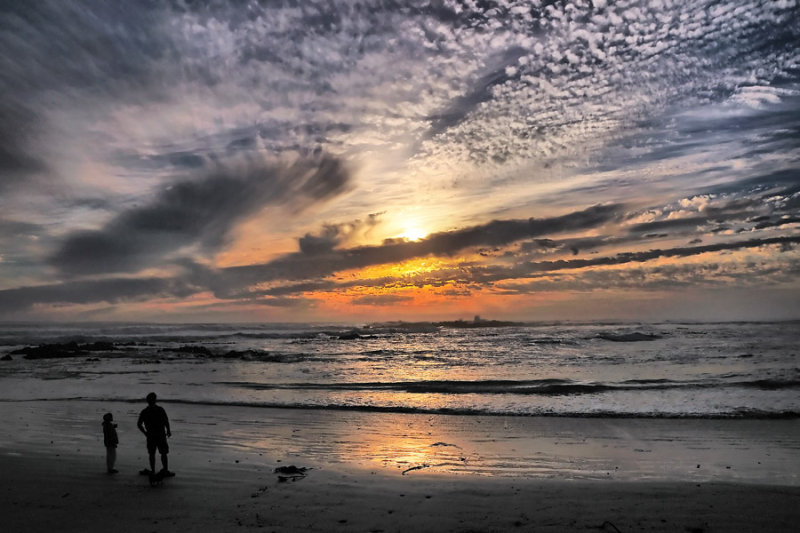 Bouberg Sunset