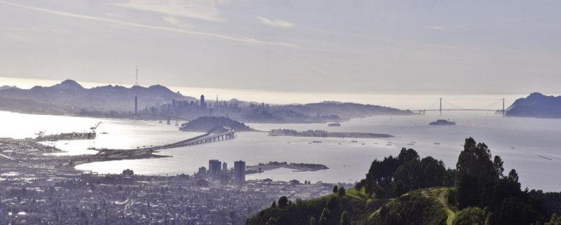 panorama, san francisco bay