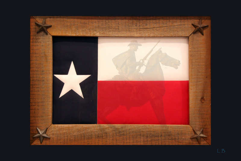 Ranger and Texas Flag