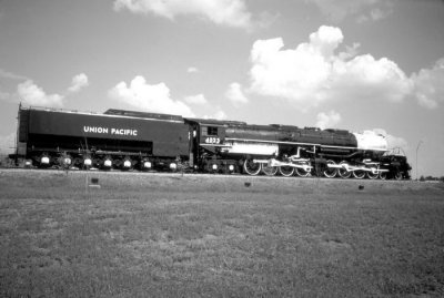 Big Boy, The Largest Steam Engine In The World