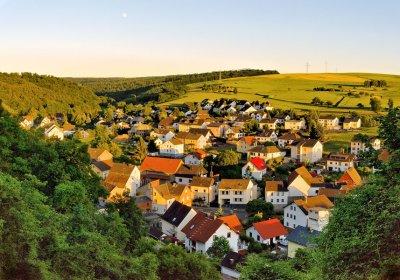 Evening Comes To Burgschwalbach