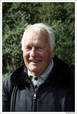 Jørgen, a brave boy of 83 years.