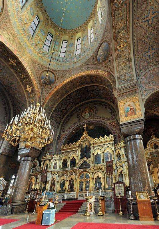 Uspensky Cathedral Interior